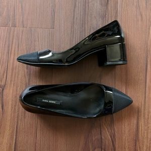 Zara Black Pumps